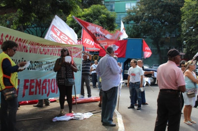Lançamento Campanha Salarial Unificada dos SPF's 25/02/2015