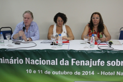II Seminário Nacional da Fenajufe sobre saude do Servidor e PJe