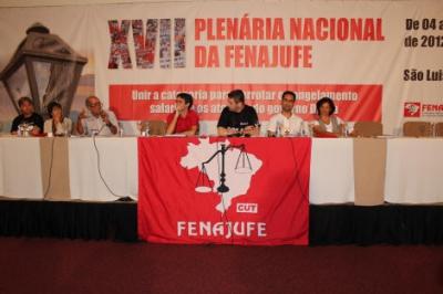 XVII Plenária da Fenajufe 4 a 6-5-2012